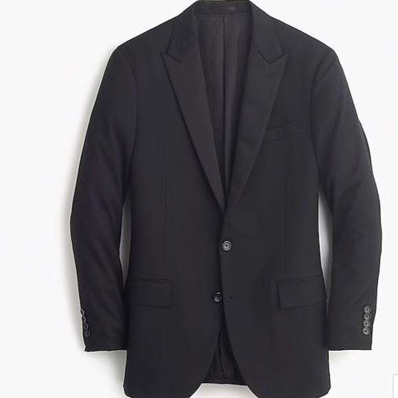 424c6f292cbd J Crew Ludlow Slim Fit Tuxedo Jacket Italian Wool. J. Crew.  M 5bdbf063aa8770a45fd3bebe. M 5bdbf065aa571912481179a4.  M 5bdbf067df0307a8a194ca96